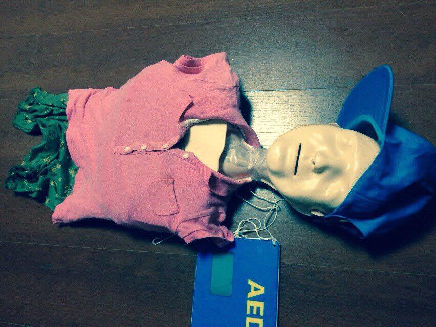 【愛を行動に:AED講習行ってきました】